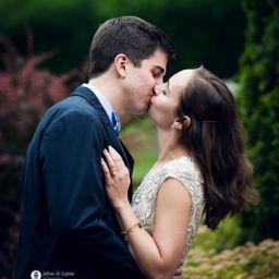 Engagement Photo at Prospect House Rose Garden