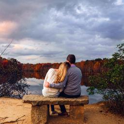 Plainsboro Preserve Engagement Photography